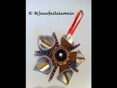 DIY Nespresso: Comment faire une étoile dorée pour Noël. - YouTube