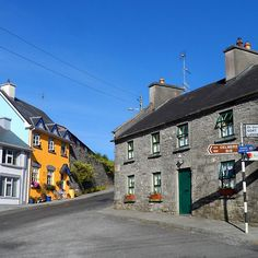 'Kinvara Bed & Breakfast' by Alan Hogan Into The West, Bed And Breakfast, Photo S, Over The Years, Ireland, Irish, Buildings, Nostalgia, Destinations