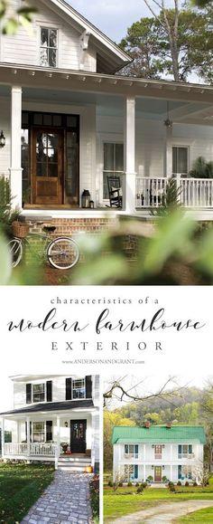 Characteristics of a Modern Farmhouse Exterior