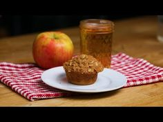 Apple Pie Muffin. Muffin Recipes, Apple Recipes, Brunch Recipes, Baking Recipes, Cookie Recipes, Dessert Recipes, Brunch Ideas, Baking Ideas, Dessert Ideas