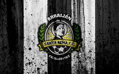 Download wallpapers FC Santa Gema, 4k, grunge, Liga Panamena, logo, football club, Panama, Santa Gema, soccer, LPF, stone texture, Santa Gema FC