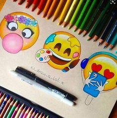 Imagen de emoji, art, and drawing                                                                                                                                                                                 Más