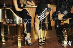 H&M masstige Jimmy Choo