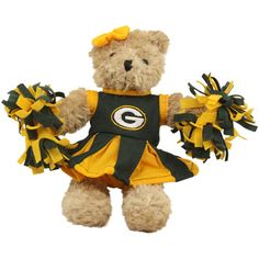Showcasing Women's Football Fashion Tops,we bring Licensed Team Sports Fanwear fashion trends to Football Fans Green Bay Packers Mascot, Green Bay Packers Cheerleaders, Green Bay Packers Merchandise, Nfl Green Bay, Packers Pro Shop, Packers Gear, Trends, Football Fans, Sport
