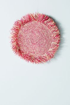 Fringed Hanging Basket | Anthropologie...