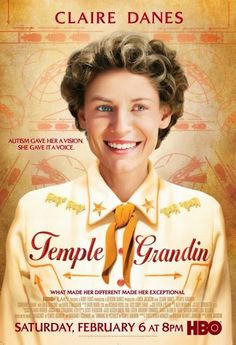 Thinking in Pictures, or the movie, Temple Grandin are both well worth your time. The performance by Claire Danes is superb. Claire Danes, Temple Grandin Books, Carrie, Mini Poster, Thinking In Pictures, Autism Books, Top Ten Books, Autistic People, Autism Spectrum Disorder