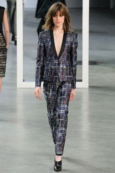 Derek Lam Fall 2012 Ready-to-Wear Fashion Show - Sojourner Morrell