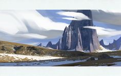 ArtStation - Environment sketches, Veikka Somerma