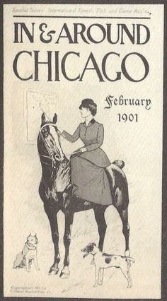 In & Around Chicago Feb 1901 by George Ford Morris