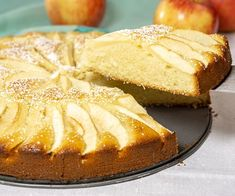 Moist and buttery cake meets fall apples in Apfelkuchen, a classic German Apple Cake that is the perfect recipe for a fall dessert. Fall Desserts, Just Desserts, Apple Kuchen Recipe, Easy German Recipes, Deutsche Desserts, German Apple Cake, German Desserts, Fudge Cake, Spiced Apples