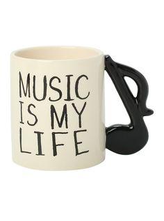 Musical Note Mug,