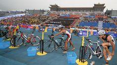 2012 Olympics, triathlon transition