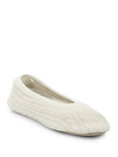 Arlotta Exclusively for Saks 5th Avenue - Cashmere Ballet Slippers
