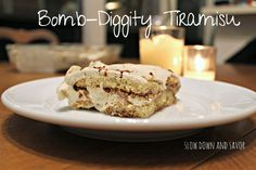 """This tiramisu was not only relatively easy to make (even easier if you happen to have pre-made lady fingers) but it was sinfully delicious. I quite literally, licked my plate. My husband kept moaning in joy, saying how good I did. He renamed it """"the bomb-diggity misu,"""" and gave me a heart-felt high five! I was SO happy. Honestly, I got all giddy. There's something awesome about making something that the ones you love not only enjoy, but rave about. I highly recommend this recipe for all…"""