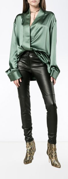 HAIDER ACKERMANN asymmetric wrap shirt, explore now on Farfetch.