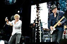 Photo by Alex Barron-Hough European tour 2013 The Who Pete Townshend, Roger Daltrey, Big Noses, Rock Groups, European Tour, Rock Music, Photo Credit, Music Videos, Take That
