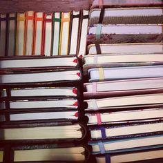 Blank journals.