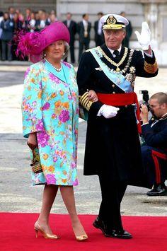 SM el Rey Juan Carlos de España y SAR la Infanta Pilar de España, Duquesa de Badajoz