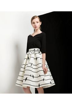 Sing a Love Song Printed Midi Skirt - New Arrivals - Retro, Indie and Unique Fashion