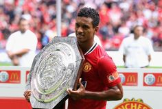Nani with the 2011 Community Shield