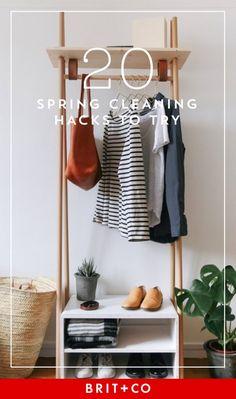 19 Bedroom Organization Hacks to Kickstart Your Spring Cleaning via Brit + Co