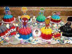 Jello Cake, Jello Desserts, Spiderman, Batman, 4th Birthday, Oreo, Cakes, Christmas Ornaments, Holiday Decor