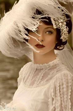 Novia vintage beautiful model