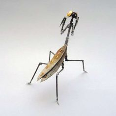Steampunk Insect Jewelry - A Mechanical Mind Launches New Line Using Old Watches and Light Bulbs (GALLERY)
