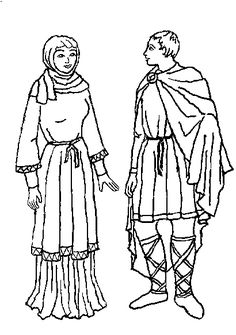 Medieval european costume links page