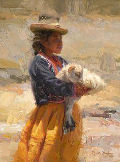 Scott Burdick (1967, American) Children Of The Andes