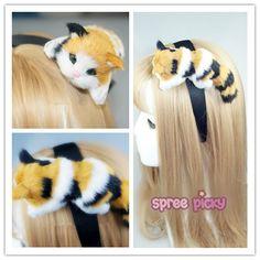 Kawaii Kitty on my Hair Band SP167420