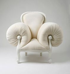 surreal-french-furniture-design-lila-jang-2 French Furniture, Famous Artists, Accent Chairs, Garlic, 18th Century, Vegetables, Behance, Food, Surrealism