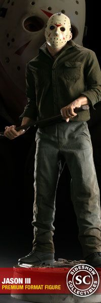 Jason figure from Sideshow Collectibles! #horror #f13