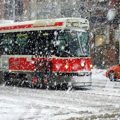 Street car in the snow in Toronto- nearly 10 years ago. The Snow, Toronto Street, Downtown Toronto, Toronto City, Toronto Pictures, Toronto Images, Trains, Toronto Photography, Lifestyle Photography