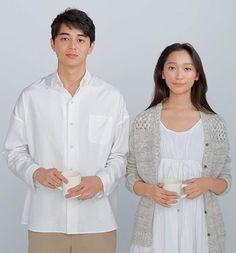 東出昌大、杏 Actor Model, Asian Beauty, Gentleman, Japan, Actors, Portrait, Couples, Celebrities, Coat