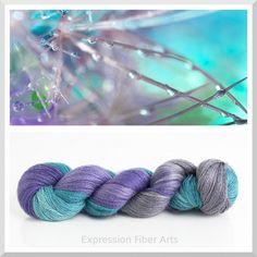 Expression Fiber Arts - MORNING DEW YAK SILK LACE, $39.00 (http://www.expressionfiberarts.com/products/morning-dew-yak-silk-lace.html)