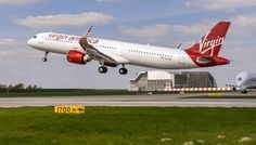 Airbus delivered the first-ever A321neo to U.S. airline Virgin America at a ceremony in Hamburg, Germany.