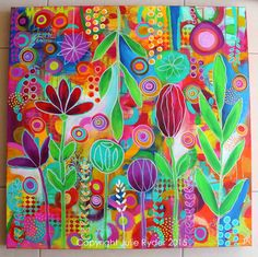 Made-By-Me....Julie Ryder: New! Majestic Garden...Abstract