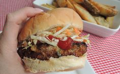 Mouth Watering Meatloaf Burgers