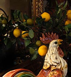 French Country Decor Beyond French Rooster Theme Decor Decorating Accessories