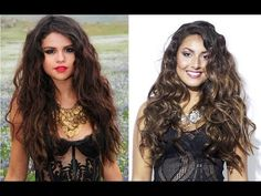 Get the look: Selena Gomez Hair Tutorial My Beauty, Beauty Secrets, Hair Beauty, Wand Hairstyles, Curly Hairstyle, Selena Gomez Hair, Curling Hair With Wand, Wand Curls, Clip In Hair Extensions