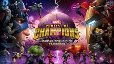 MARVEL Contest of Champions v8.0.0 MOD Apk. Hack Marvel com High Damage, No Damage, Enemy Very Easy to Kill e Enemy no Defense!