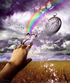 Los días pueden ser iguales para un reloj, pero no para una persona. Renuévate cada día!