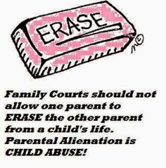 Children's Rights: Parental Alienation By Court Ordered Contact Denial Causes Children To Lose Capacity To Love