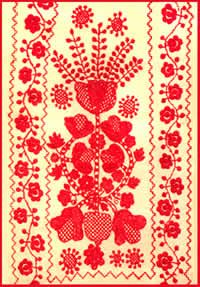 Tree of Life embroidery  central Ukraine