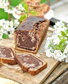 Ciasto bananowe bez cukru, bez glutenu Healthy Desserts, Raw Food Recipes, Gluten Free Recipes, My Recipes, Cooking Recipes, Low Carb Side Dishes, Bread Machine Recipes, Something Sweet, Banana Bread