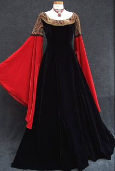 LOTR Arwen inspired || medieval dress