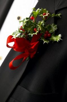 christmas wedding details - love