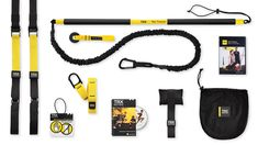 If you are serious about making your body your machine this bundle, featuring BOTH the TRX Suspension Trainer, the TRX Rip Trainer and both of their basic training DVD's with hour's worth of real-time workouts, is everything you'll need.