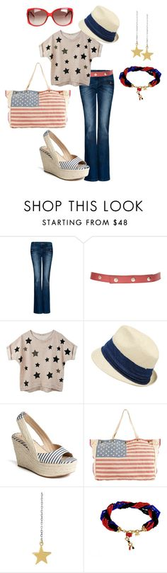 """""""Untitled #24"""" by danidug ❤ liked on Polyvore featuring MANGO, Sonia by Sonia Rykiel, Hat Attack, Splendid, Steve Madden, Mathias Chaize, Bee Charming and Gucci"""